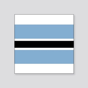 "Botswana-1-[Converted] Square Sticker 3"" x 3"""